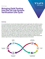 Bringing Field Testing Into the 5G Lab System Verification Life Cycle