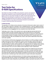Test Suite for O-RAN Specifications