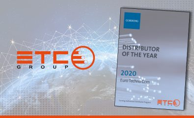 ETC Group Awarded Distributor of the Year (2020) by Corning